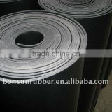 1mm to 50mm thickness sbr cr nbr epdm natural silicone viton rubber sheet