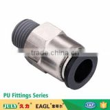 China JULY manufactory supplier zinc alloy check valve pneumatic connection pipe fittings