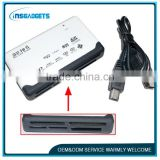 All IN 1 card reader-Support all kinds of memory cards,USB 1.1/2.0 compatible,Fit for desktop and notebook