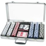 300pc x 11.5g poker chips set