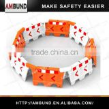 hot sale Plastic Roadway safety water filled Direct manufacture HDPE plastic water filled