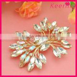 Wholesale rhinestone shoe clip shoes accessories for women shoe WSC-228