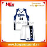 Hongen apparel Tackle twill Embroidery Basketball jersey, High Quality Embroidered Basketball wear shirt/ Womens and mens
