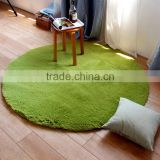 Thicker Silk Round Carpet Non-slip Yoga Mat Basket Computer Chair Pad Bedroom Living Room Bedside Carpet
