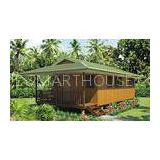 Light Steel Framing Bali Prefab Wooden Houses / Thailand Beach Bungalow
