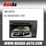 HD touch screen dvd car radio for Volvo S60 V70 car multimedia navigation system with Bluetooth audio Radio fm am