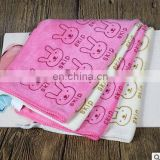 2017 Absorbent microfiber towel bathroom drying washcloth cute rabbit animal beach towel cotton wash for adult baby towel