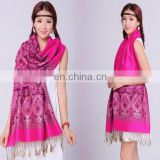 Fashion jacquard bohemia scarves shawls for pakistan