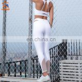 custom spandex design your own brand name push up mesh womens gym high waisted workout leggings