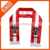 Fashion polyester custom promotion christmas scarf