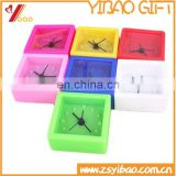 2017 hot sell wholesale silicone table alarm time clock