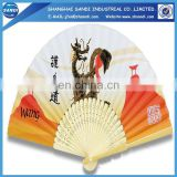 promotion wooden fan handle