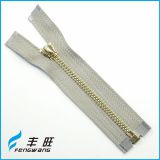 Best selling long chain metal zips zipper