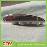 Metal Material custom fashion decorative metal nameplates