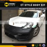 3 Perfect Fitment 970 CT Style Body Kit for panamera 970 Bumper