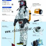 Marine Fire-fighting system,breathing apparatus,fireman outfit,chemical protective suit,diving suit,fire extinguisher