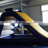 Hot sale inflatable funny water slide inflatable floating toy slide in pool for family playing
