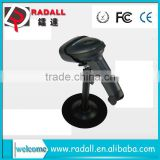 Trade Assurance RD 2011 Laser Long Range Automatic Sensing and Scan Handheld Laser Wired Barcode Scanner for supermarket