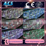 ACS newly product for Wedding decor Optical 3D Illusion Light Infinity Led Dance Floor