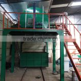 Waste polyurethane scraps recycle mattress rebonded foam making machine