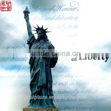 The City Woman Monument Of The Liberty Copper Statue Bronze Sculpture