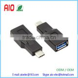 USB Type C USB 3.1 Male Plug to USB 3.0 A Female Jack Type OTG Adapter