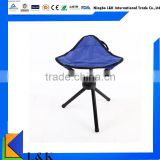 portable triangle folding chair/metal fishing stool portable