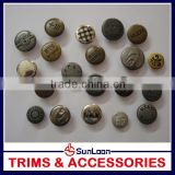 China factory price Trade Assurance color plastic jeans button