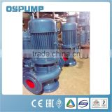 2016 New products for GW vertical high efficiency pipeline sewage pump