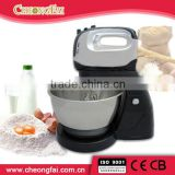 Black Chrome Plating 4L Large Stainless Steel bowl Food Mixer                                                                         Quality Choice