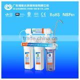 Domestic Best factory price 5 stage easy water filtration system made in China for kitchen use without water pump