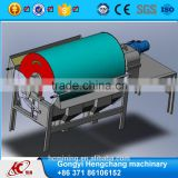high quality drum magnetic separator with cross belt