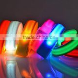 Colorful LED Bracelets Light Up toys Glow Flashing Wrist Band For Party Decoration Outdoor Supplies
