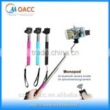 Alibaba China Extendable Handheld Flexible monopod selfie stick for iphone
