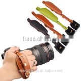 Colorful leather camera wrist hand straps