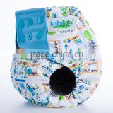 ananbaby ai2 reusable double gussets charcoal bamboo cloth diapers wholesale                                                                                                         Supplier's Choice