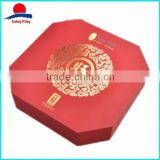 High Quality Rigid Cardboard Special Design Mooncake Packaging Box