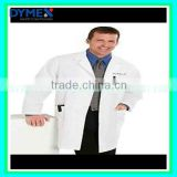Dymex White PP nonwoven SF SMS Medical Used Chemical Acid Resistant Disposable Lab Coats