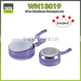 Aluminum ceramic coating saucepan with bakelite handle