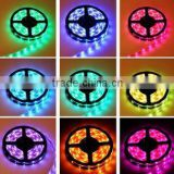 5M 5050 RGB 300 Led SMD Flexible Light Strip Lamp+44 key IR+12V 5A Power Supply led super bright RGB KIT                                                                                                         Supplier's Choice