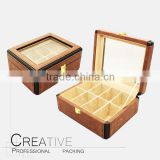C&Y PU leather tea packaging boxes fot selling                                                                                                         Supplier's Choice