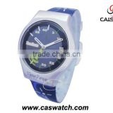 Alloy case PVC band Kids watch special plastic disk second hands child watch quartz analog kids watch