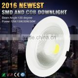 2016 Hot New Products SAA CE TUV High Lumen COB LED Downlight ,fire rated led downlight