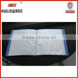 china wholesale pp 10--100 page plastic clear book