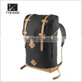 canvas satchel sports rucksack leather strap knapsack outdoor kanken backpack