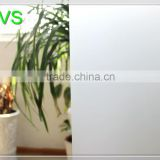Hot sell White frosted decorative film,Bathroom frosted sticker pattern,white light tranmittance window film similar to 3m film