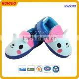 Hot sale soft cozy plush animal shape kids funny slippers and shoes