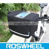 Hot sale waterproof bicycle travel handlebar bag with high density fabric 11812 waterproof fabric bag lining