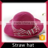 Straw cowboy hat and cap