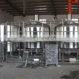 CHINA RJ 2000l large stainless beer brewing equipment, industrial beer brew house for sale